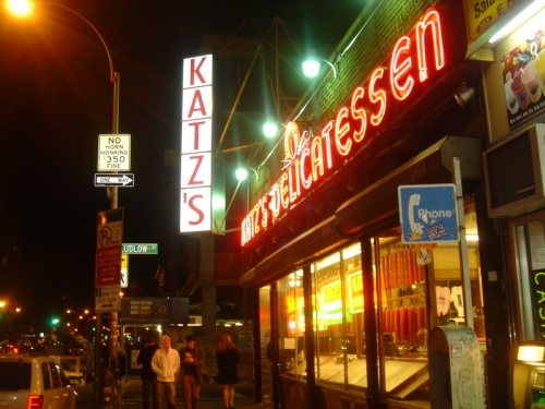 Katz's Delicatessan, Lower East Side, Manhattan
