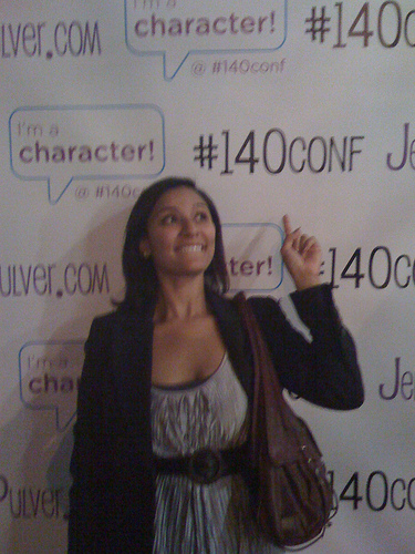 At the #140conf NY VIP Party in June 09