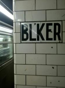 Bleeker Street, 1.25.2010